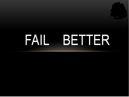 FAIL Better for Blog